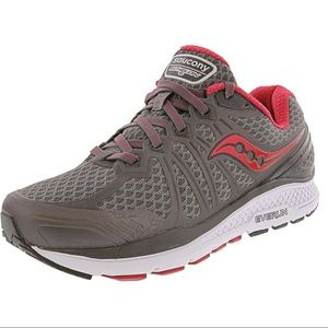 Saucony Echelon 6 Running Shoes in Grey and Pink